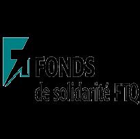 Logo de notre partenaire Fond de solidarité FTQ